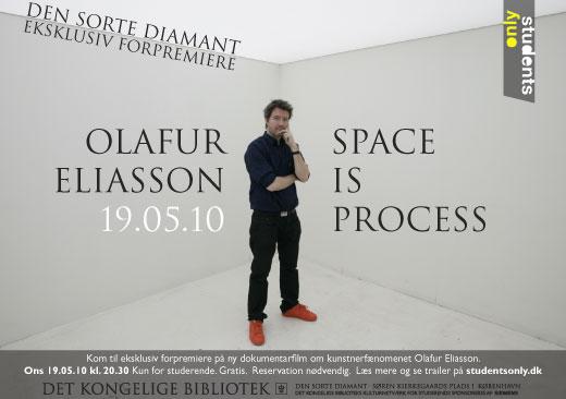 Kom gratis til dokumentarforpremiere om kunstnerfænomenet Olafur Eliasson