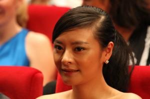 En af skuespillerne på den kinesiske film Ao ge