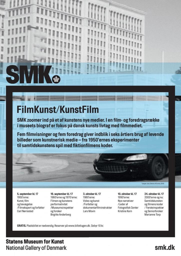 Kom til filmaftener og foredrag om film- og videokunst