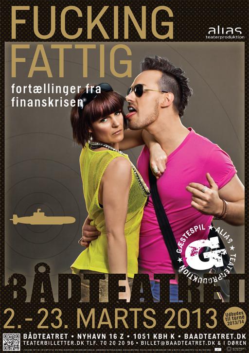 »Fucking Fattig« ny ungdomsforestilling af Alias Teaterproduktion