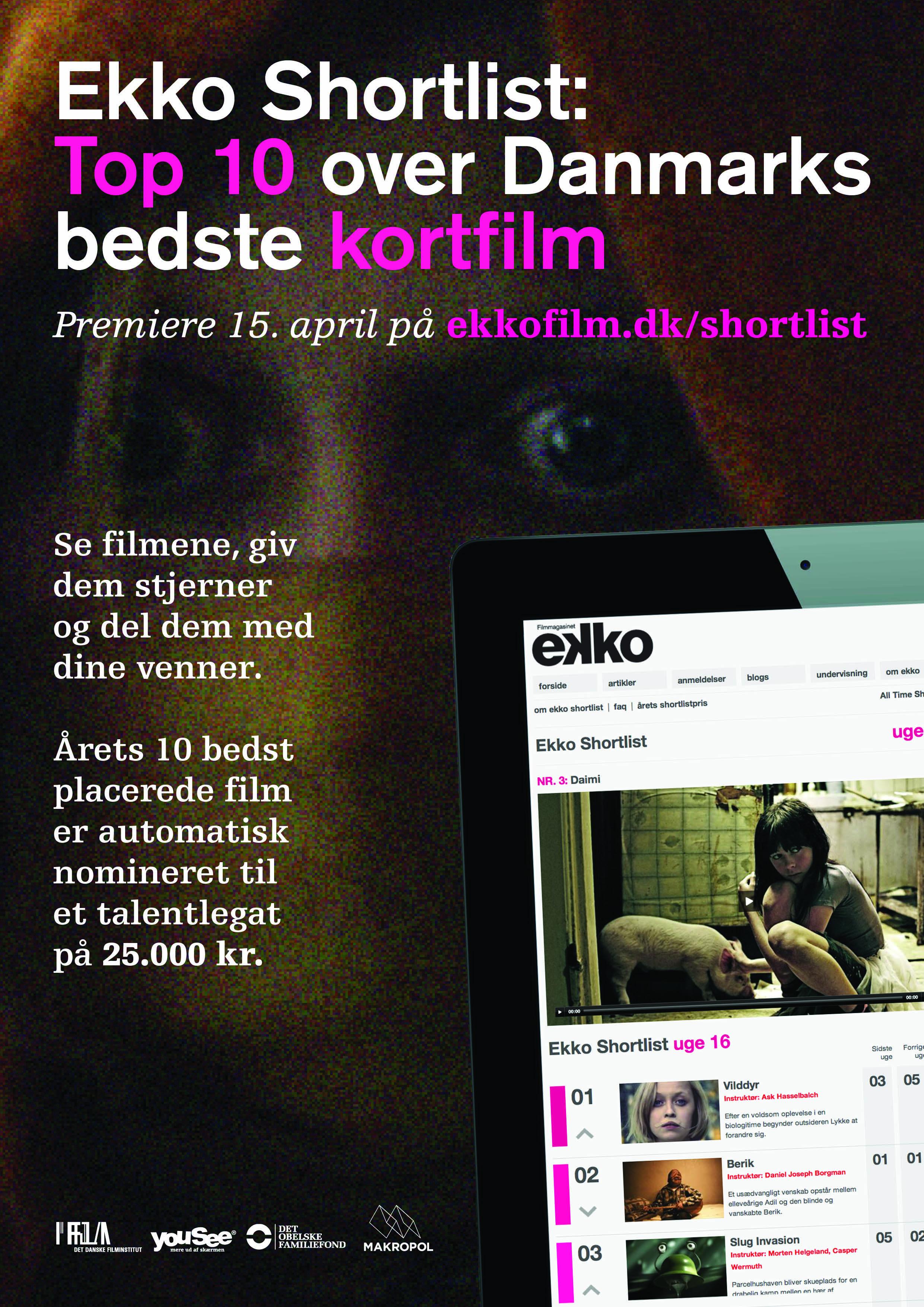 ekko shortlist