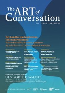 The Art of Conversation flyer