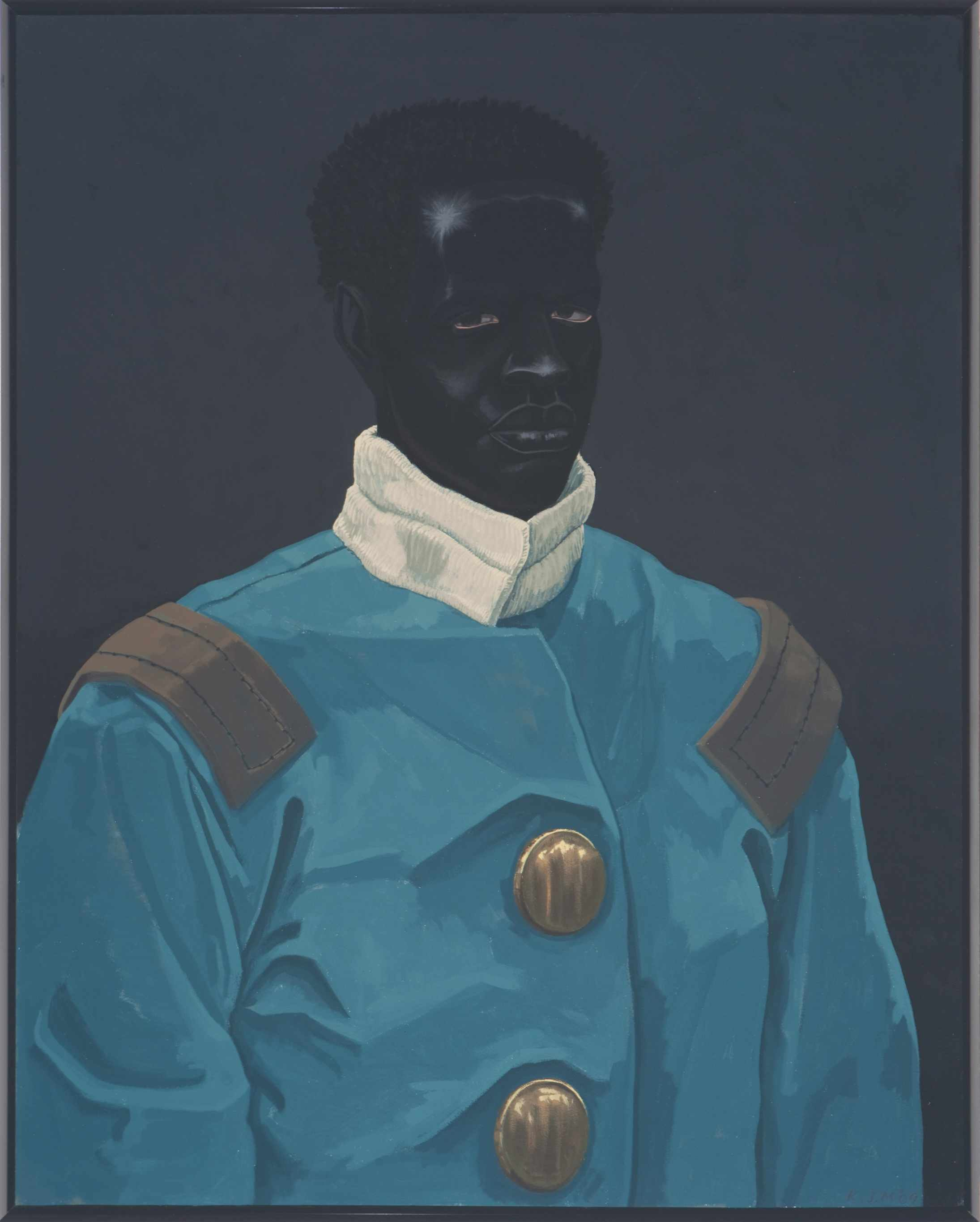 Kerry James Marshall, Believed  to be a Portrait of David Walker (Circa 1830), 2009, Courtesy The Deighton Collection, London_low