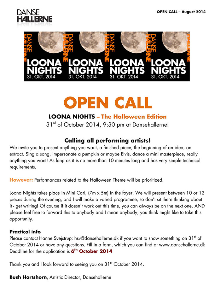 KUKUA_Ny_A3_opencall_loonanights_31st-october_2014