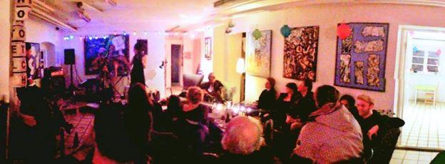 Billige, hyggelige pladser i kunst- og kontorfællesskab på indre Nørrebro.