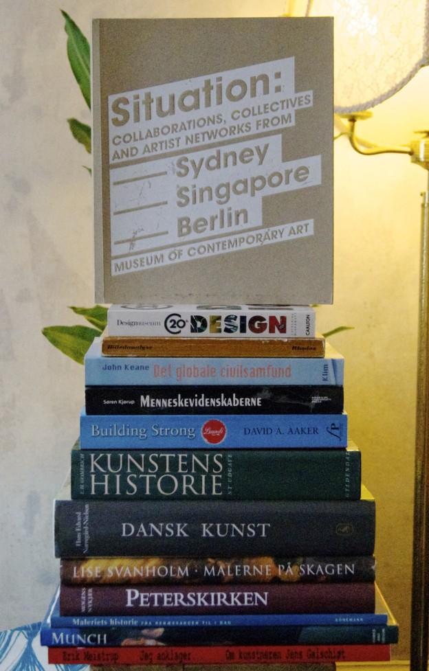 Bogsalg – Kunst, teori & lidt øvrigt.