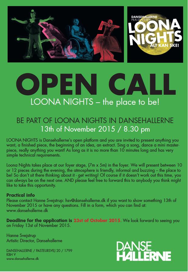 Open Call Loona Nights