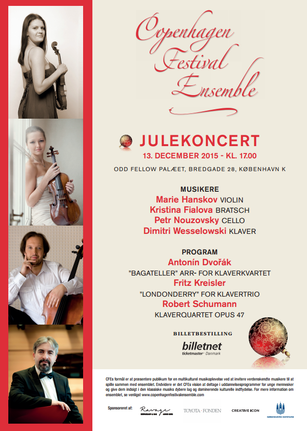 Copenhagen Festival Ensembles Julekoncert Kukuadk