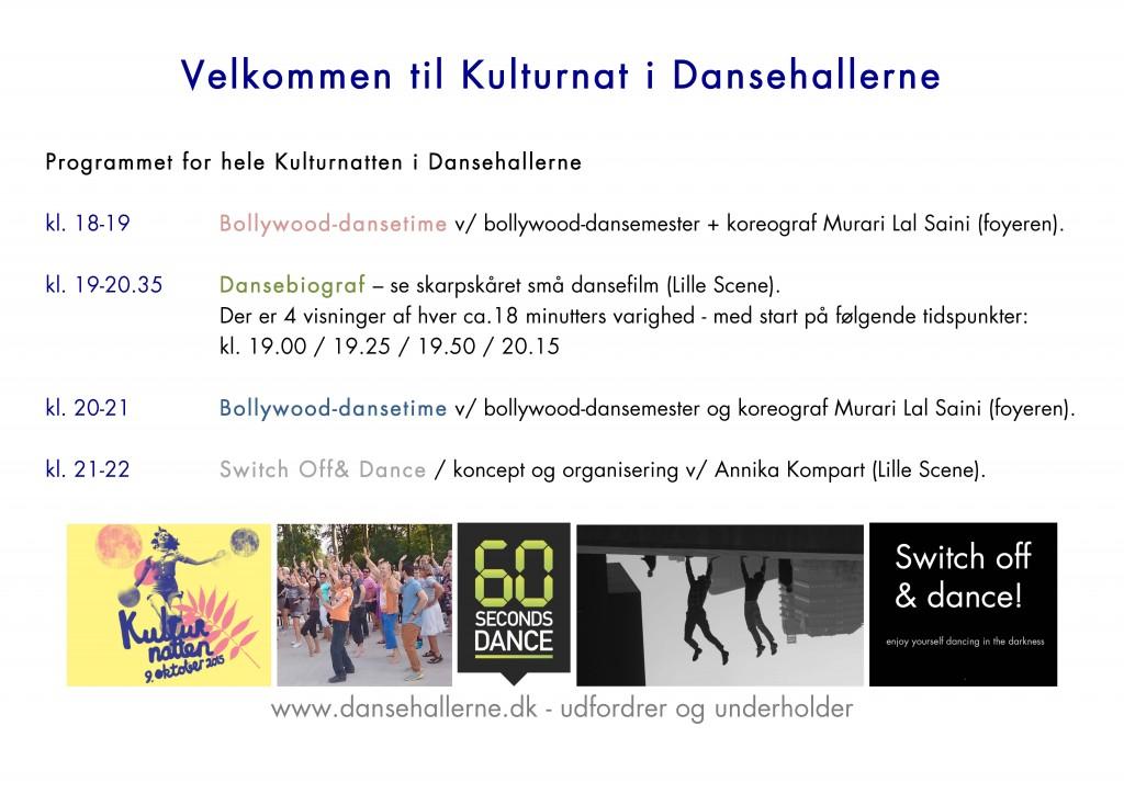 Kulturnatprogram DH 2015
