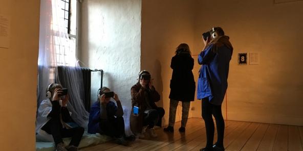 Omvisning i VR:LAb – PEER REVIEW i Nikolaj Kunsthal