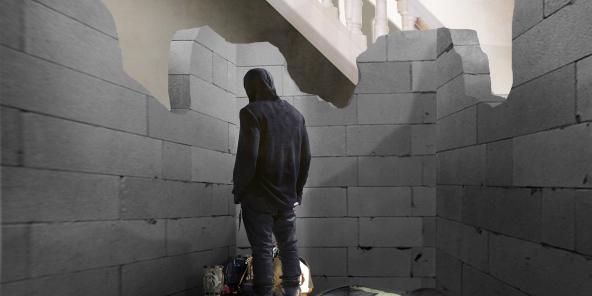 "Arkitektur performance: Kristoffer Akselbo ""Ensconced"", 18-27 marts 2016"