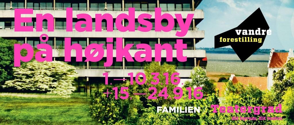 Teaterkollektivet FAMILIENs »En landsby på højkant«