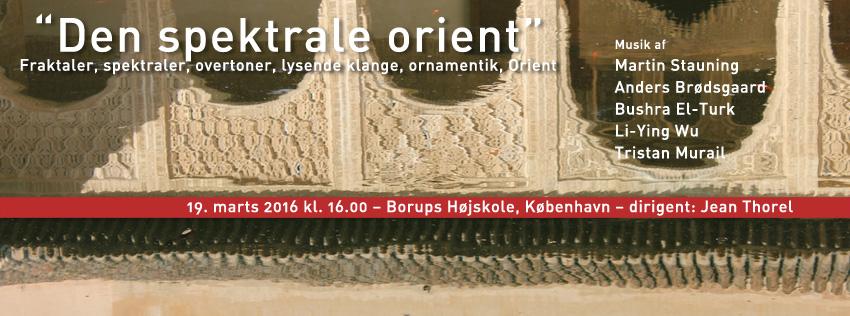 Athelas Sinfonietta præsenterer: Den spektrale Orient