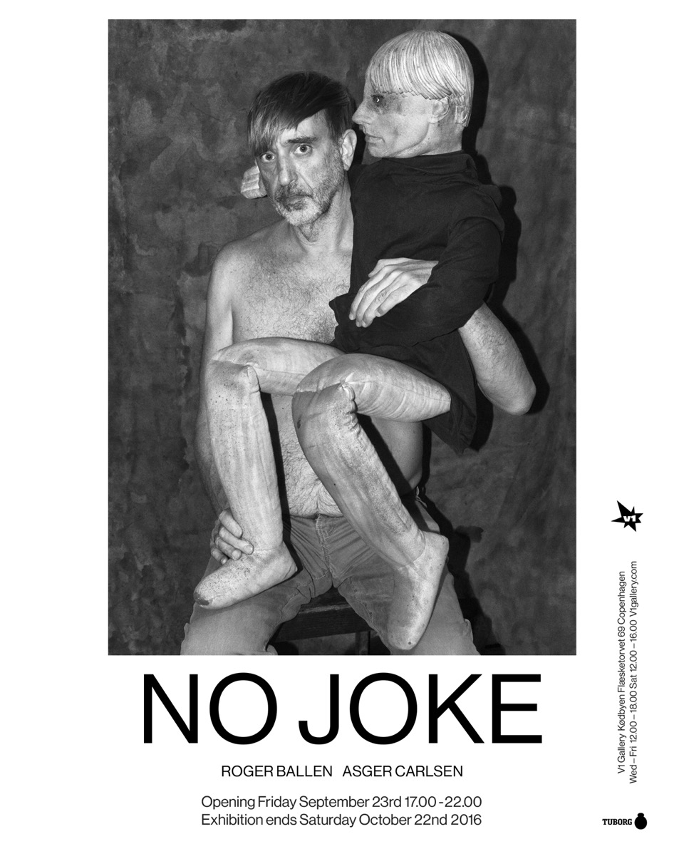 V1 Gallery presents: NO JOKE – an exhibition by Roger Ballen and Asger Carlsen