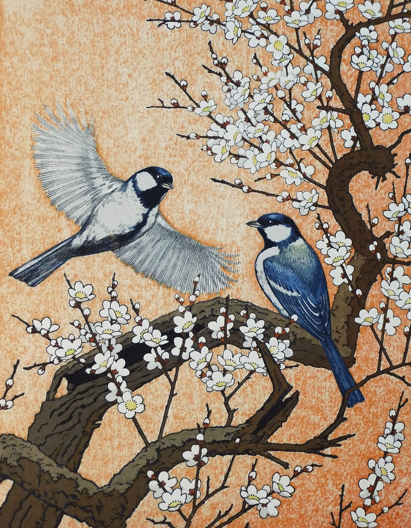 yoshida-toshi-spring-flying-around-the-plum-tree-1982