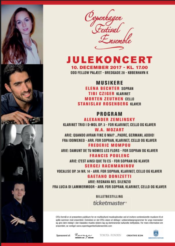 Vi Har Hermed Fornøjelsen At Invitere Jer Til Copenhagen Festival