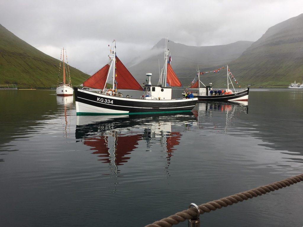 Færøsk fiskeri og sejlads gennem 150 år