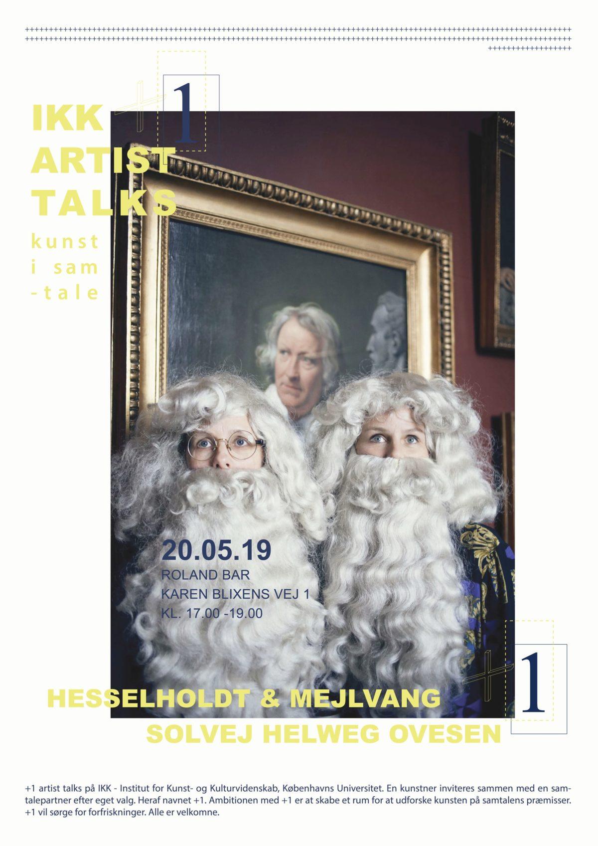 +1: Hesselholdt & Mejlvang + Solvej Helweg Ovesen