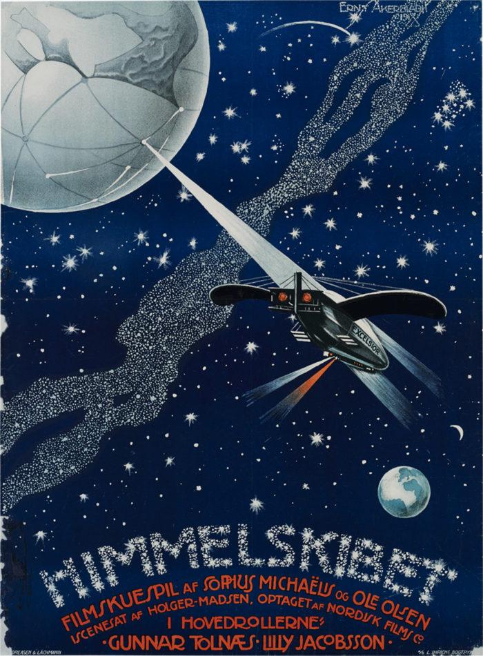 """Film & lyd performance: """"Himmelskibet"""" m. live-lyd af Jakob Draminsky"""