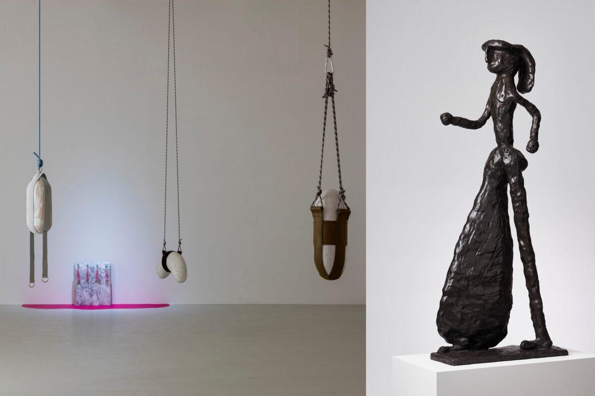 Tal R og Lea Guldditte Hestelund – en samtale om skulptur